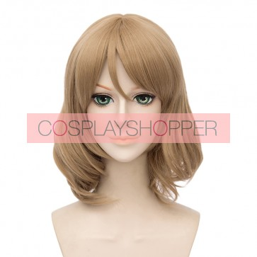 Blonde 45cm Love Live! Sunshine!! You Watanabe Cosplay Wig