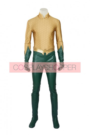 Justice League Aquaman Cosplay Costume