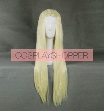 Gold 60cm Heroes of the Storm Arthas Cosplay Wig