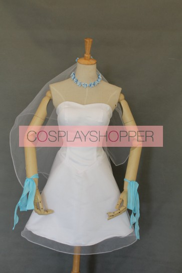 Love Live! Eli Ayase Bridesmaid Dress Cosplay Costume