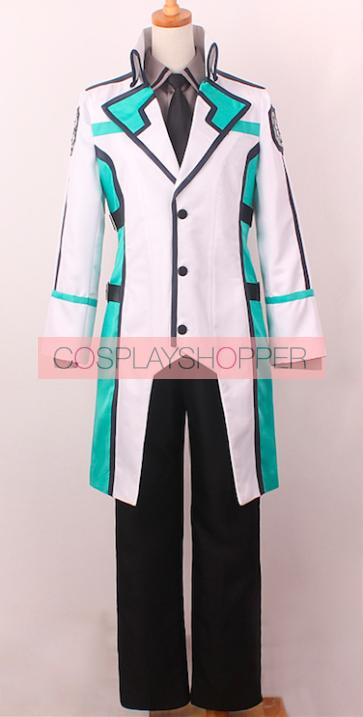 The Irregular at Magic High School Tatsuya Shiba School Uniform Cosplay Costume