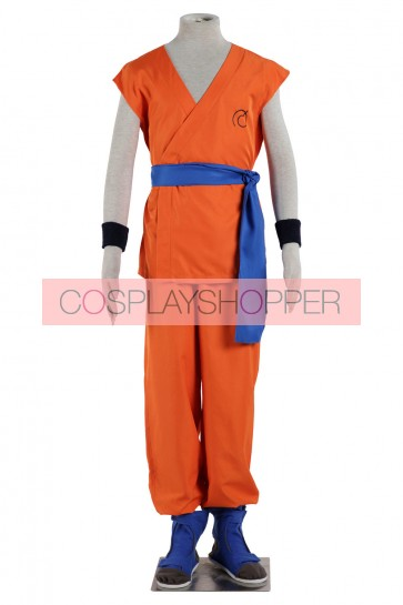 Dragon Ball Goku Cosplay CostumeWith Shoes
