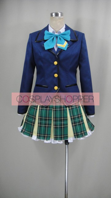 Battle Girl High School Senior High School Uniform Cosplay Costume