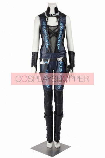 Deluxe Guardians Of The Galaxy Gamora Cosplay Costume