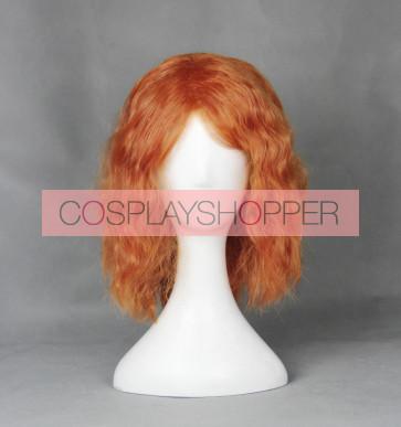 Orange 40cm Heroes of the Storm Sonya Cosplay Wig