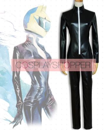 Durarara!! Celty Sturluson The Black Biker The Headless Rider Cosplay Costume