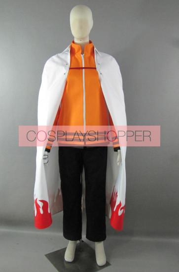 The Last: Naruto The Movie Naruto Uzumaki Seventh Hokage Cosplay Costume