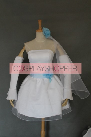 Love Live! Umi Sonoda Bridesmaid Dress Cosplay Costume