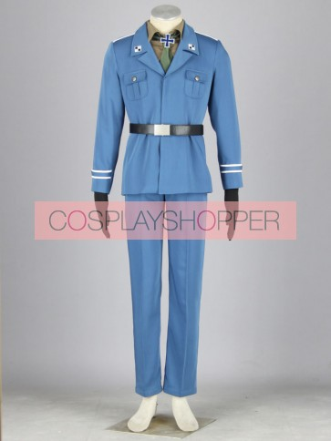 Hetalia: Axis Powers Prussia Cosplay Costume