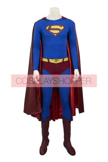 Superman Returns Clark Kent Superman Cosplay Costume