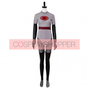 The Incredibles 2 Helen Parr Elastigirl Gray Jumpsuit Cosplay Costume For Sale