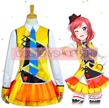 Love Live! The School Idol Movie Sunny Day Song Maki Nishikino Cosplay Costume