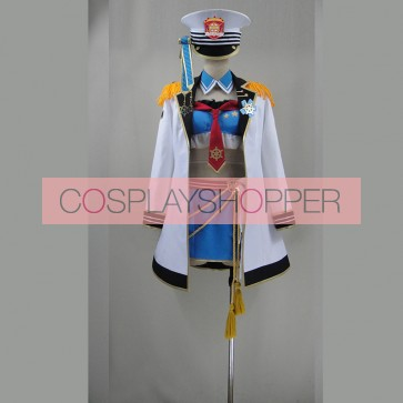 Love Live! Eli Ayase Marine Ver. Cosplay Costume