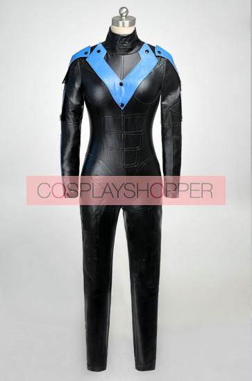 Batman: Arkham City Nightwing Cosplay Costume