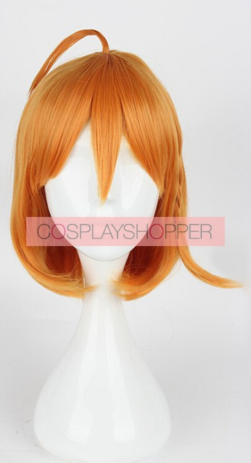 Orange 35cm Love Live! Sunshine!! Chika Takami Cosplay Wig