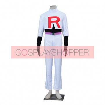 Pokemon Pocket Monster James Cosplay Costume