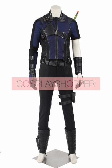 Captain America 3 Civil War Hawkeye Clinton Francis Barton Cosplay Costume