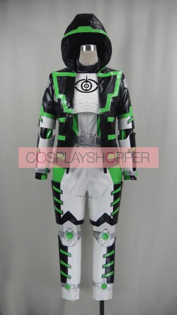 Kamen Rider Ghost Necrom Alain Cosplay Costume
