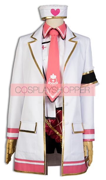 Love Live! Rin Hoshizora Nurse Cosplay Costume