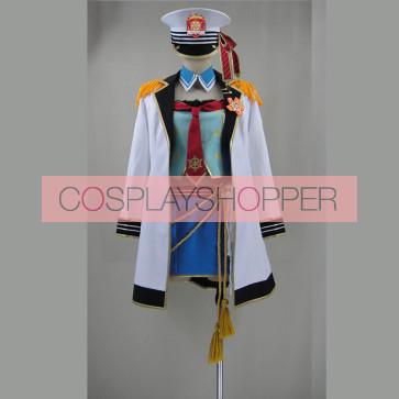 Love Live! Maki Nishikino Marine Ver. Cosplay Costume