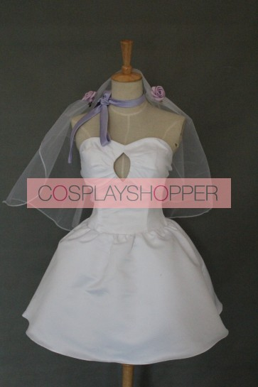 Love Live! Maki Nishikino Bridesmaid Dress Cosplay Costume