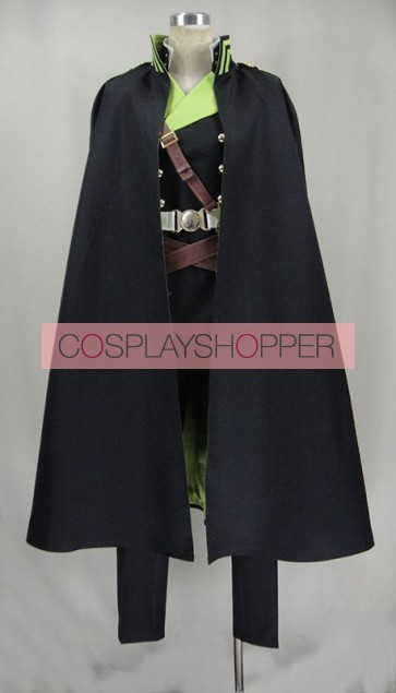Seraph of the End: Vampire Reign Owari no Serafu Norito Goshi Cosplay Costume