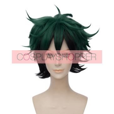 Green 30cm My Hero Academia Izuku Midoriya Cosplay Wig