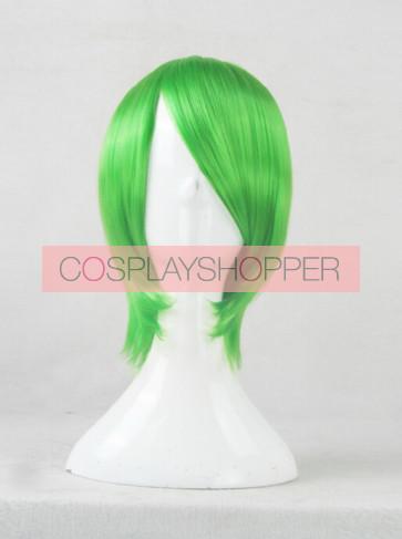 Green 35cm Akame ga Kill! Lubbock Cosplay Wig