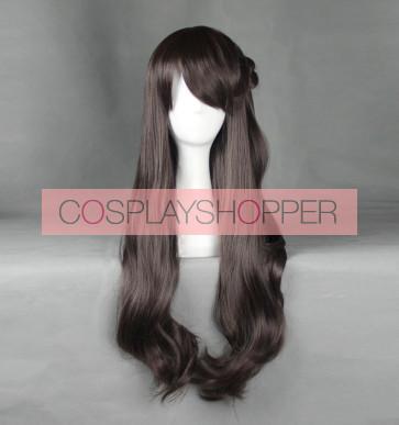 Brown 80cm The Idolmaster Cinderella Girls THE iDOLM@STER: Cinderella Girls Uzuki Shimamura Cosplay Wig