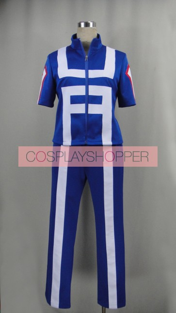 My Hero Academia Katsuki Bakugo/Tenya Iida Sports Uniform Cosplay Costume