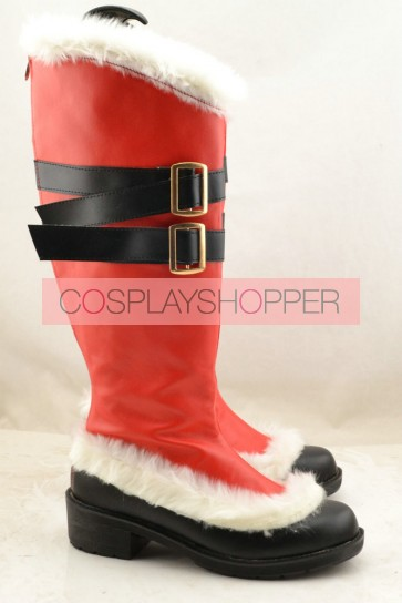 Valkyria Chronicles Gisele Fleming Cosplay Boots