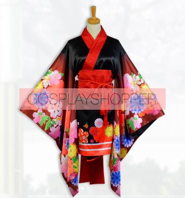 Super Sonico Kimono Cosplay Costume