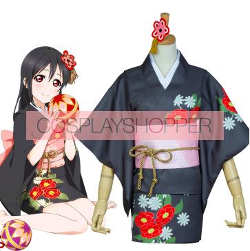 Love Live! Nico Yazawa Kimono Cosplay Costume