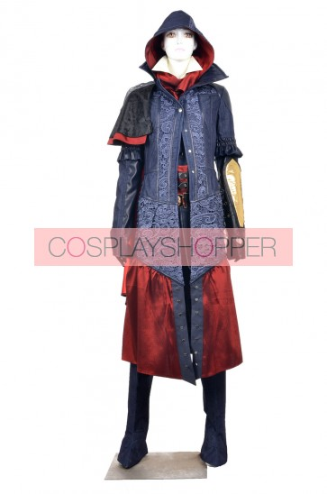 Assassin S Creed Syndicate Evie Frye Cosplay Costume For Sale