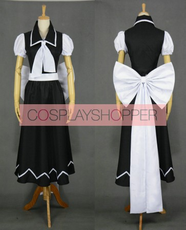 Touhou Project Yuki Cosplay Costume