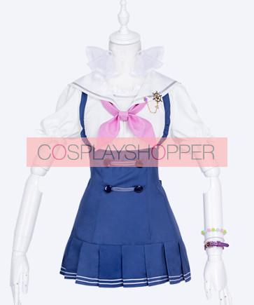 Love Live! Nozomi Tojo Marine Ver. Sailor Suit Cosplay Costume