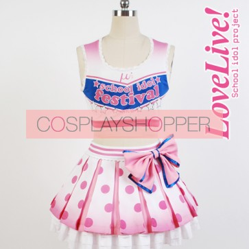 Love Live! Nico Yazawa Cheerleading Uniform Cosplay Costume
