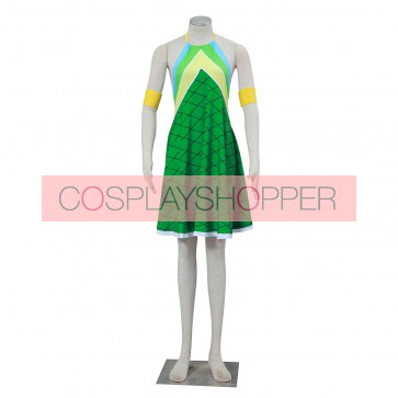 Fairy Tail Wendy Marvell Dress Cosplay Costume