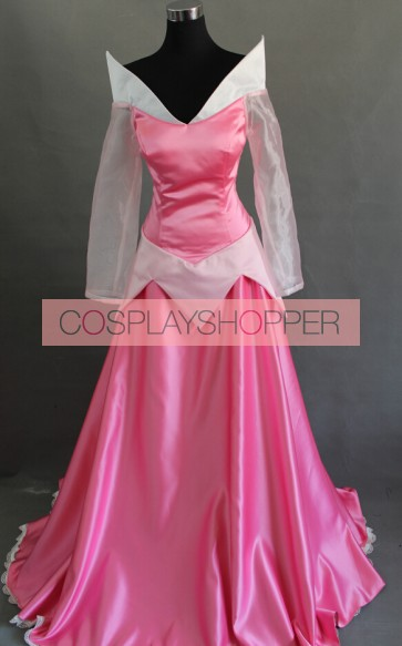 Sleeping Beauty Princess Aurora Dress Cosplay Costume - Version 2