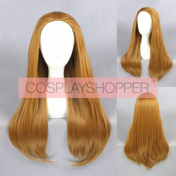 Brown 70cm Big Hero 6 Honey Lemon Cosplay Wig