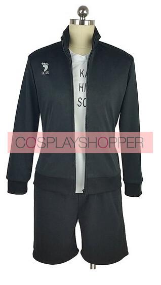 Haikyuu!! Tobio Kageyama Karasuno High School Sports Uniform Cosplay Costume
