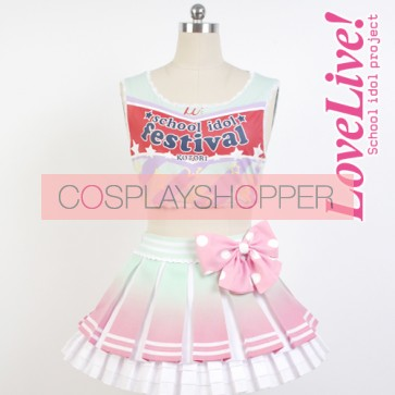 Love Live! Kotori Minami Cheerleading Uniform Cosplay Costume