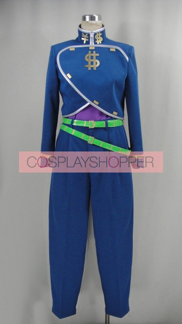 JoJo's Bizarre Adventure Okuyasu Nijimura Cosplay Costume