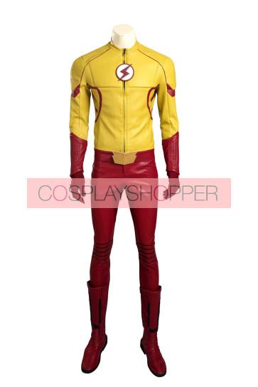 The Flash Season 3 Wally West Kid Flash Cosplay Costume