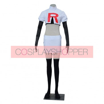 Pokemon Pocket Monster Jessie Cosplay Costume
