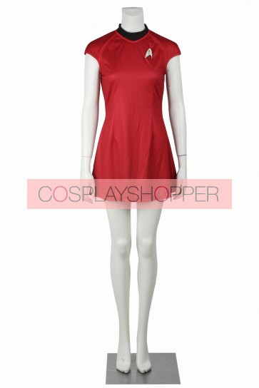 Star Trek Into Darkness Nyota Uhura Cosplay Costume
