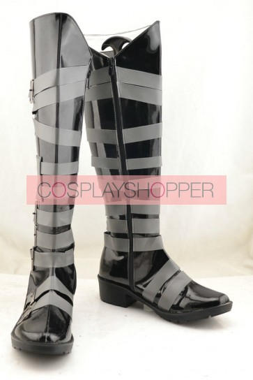 Kuroshitsuji Black Butler Undertaker Cosplay Boots