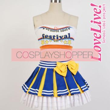 Love Live! Eli Ayase Cheerleading Uniform Cosplay Costume