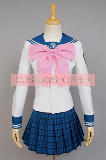 Danganronpa: Trigger Happy Havoc Sayaka Maizono Cosplay Costume