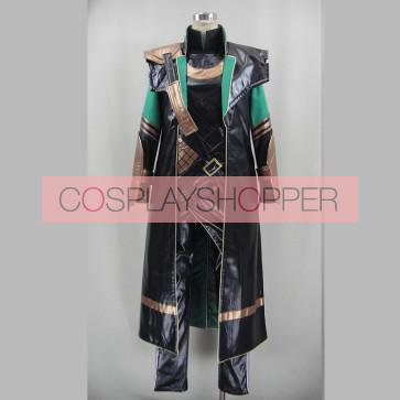 Deluxe Thor: The Dark World Loki Loptr Cosplay Costume